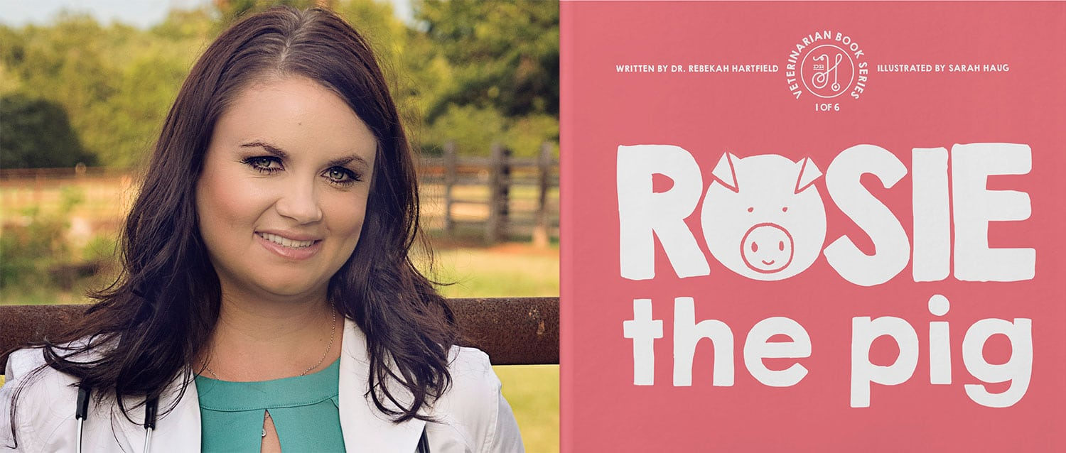 Oklahoma vet encourages young readers to embrace rural practice