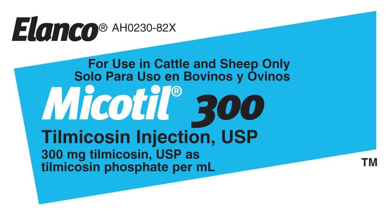 FDA issues Micotil 300 user safety alert