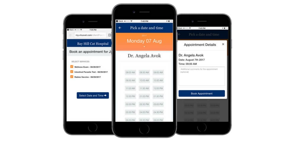 Clients can book appointments on VitusVet app - Today's Veterinary