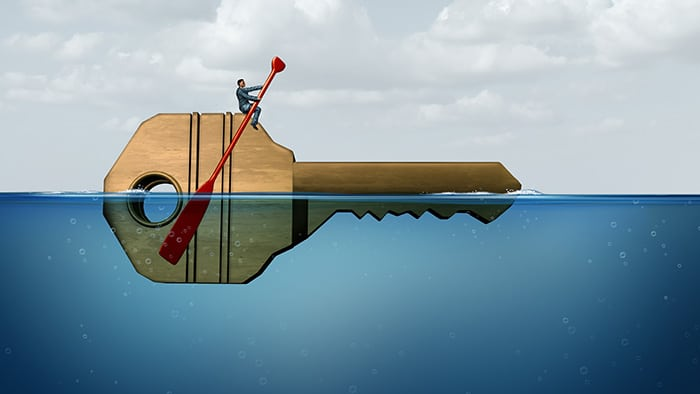 Stay above water after a flood