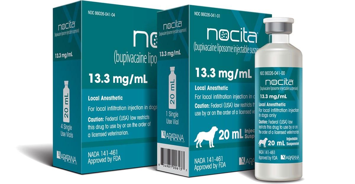Aratana's Nocita seeks feline label claim