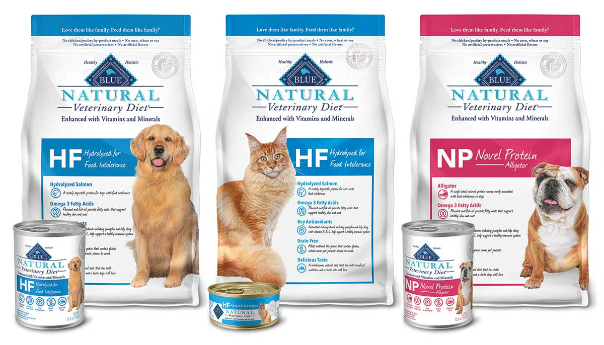 Blue Buffalo expands Veterinary Diet line