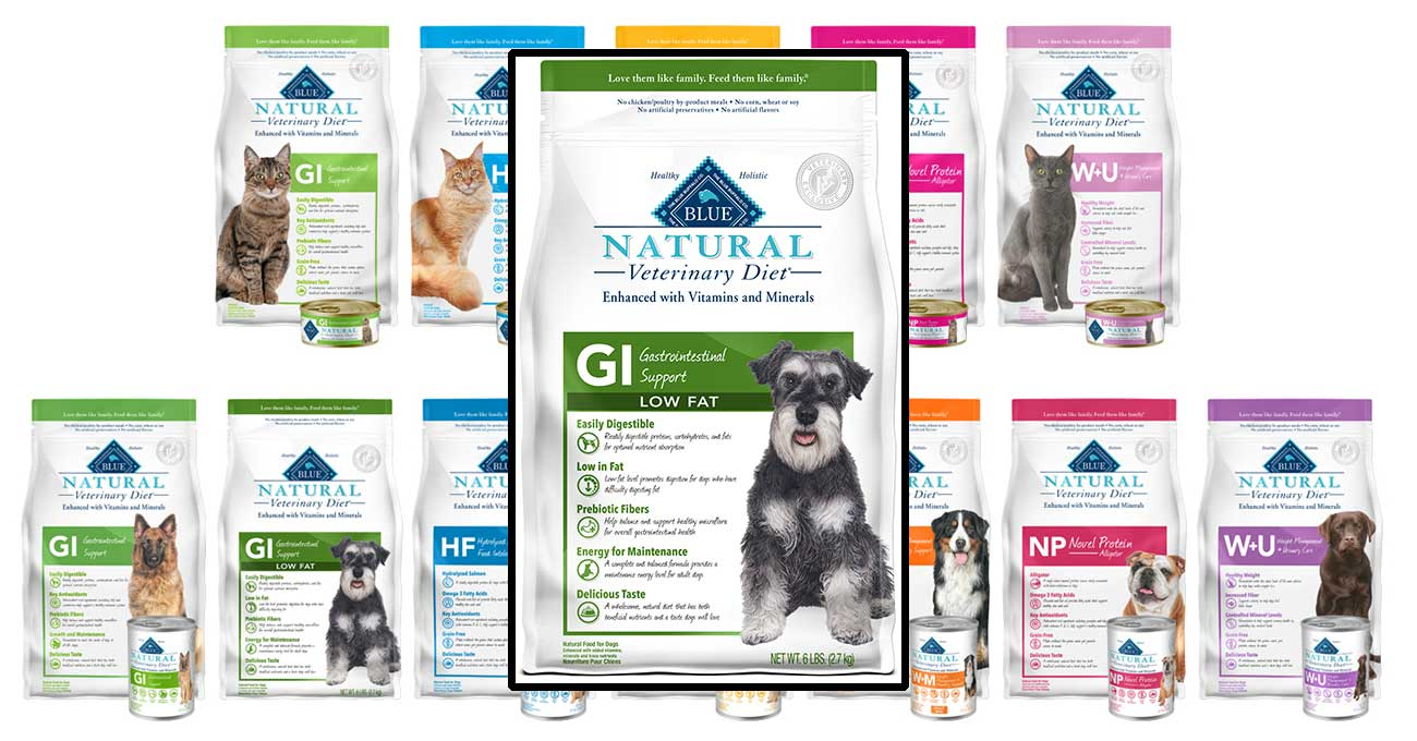 Blue Buffalo releases GI Low Fat dry food for dogs