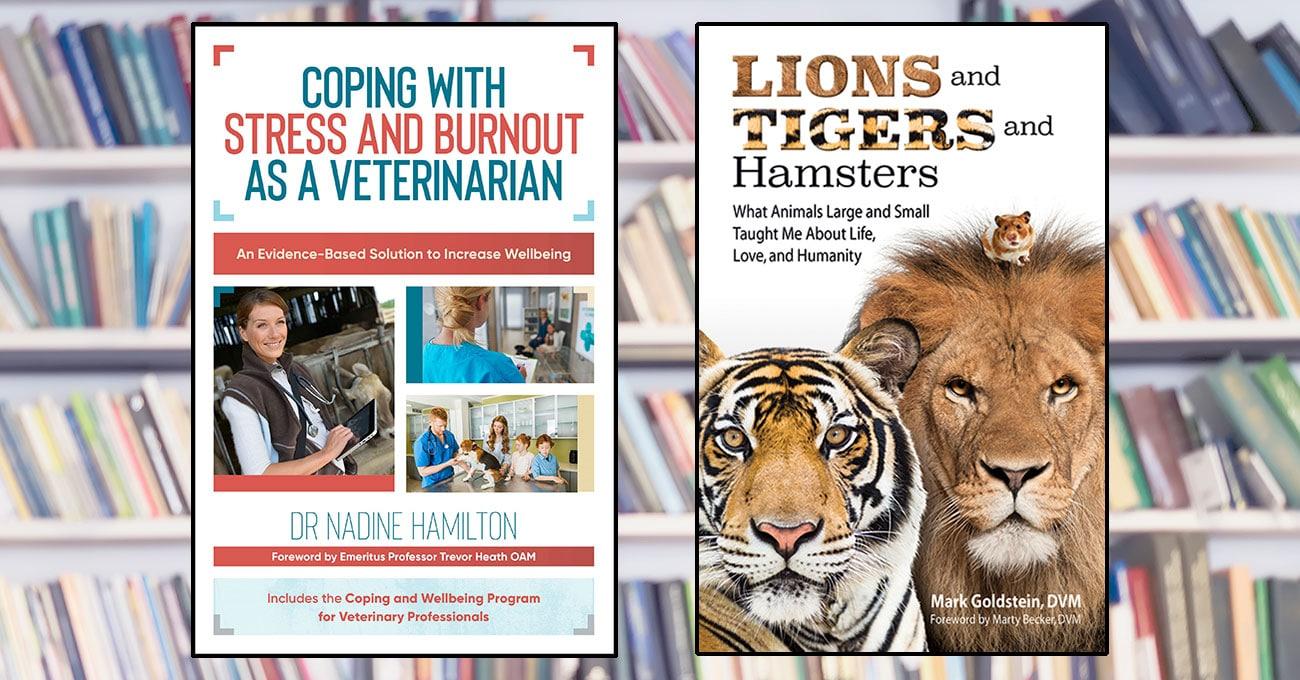 For veterinary readers: 2 new books
