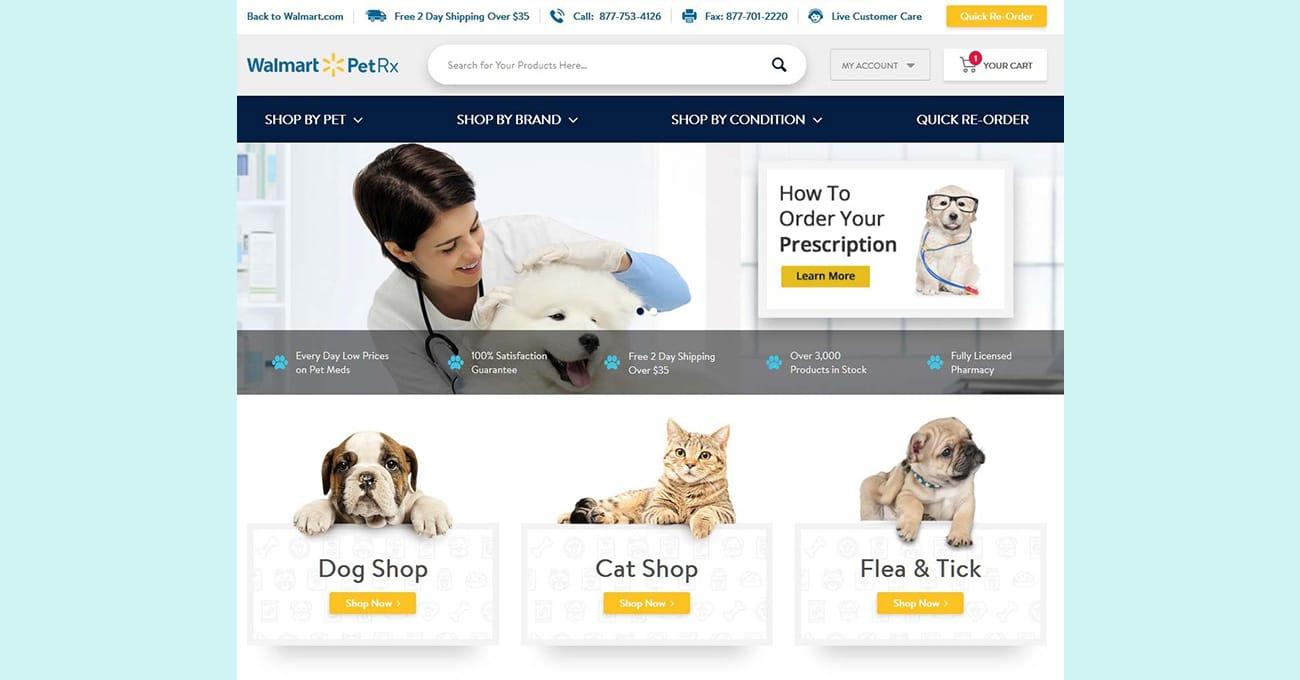 Walmart plans to open dozens of veterinary clinics