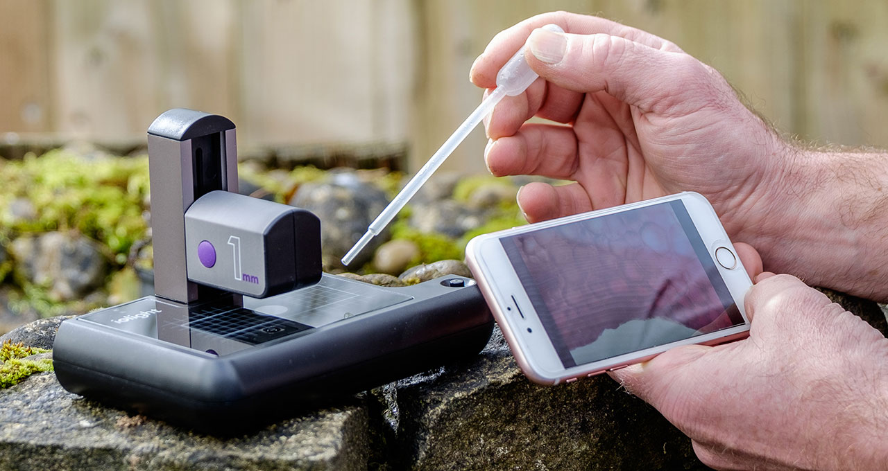 Portable ioLight microscope is granted U.S. patent