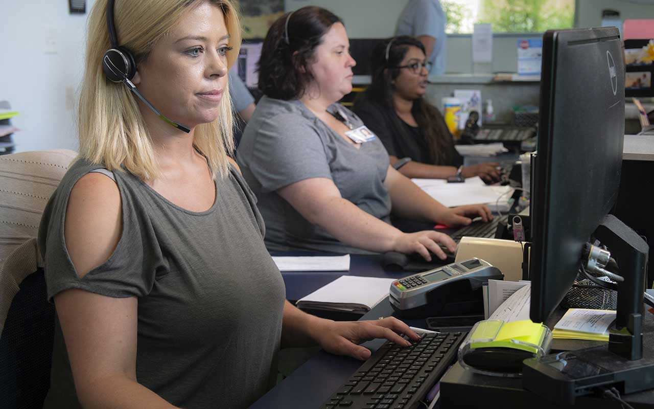 UC Davis gives receptionists a place to call their own