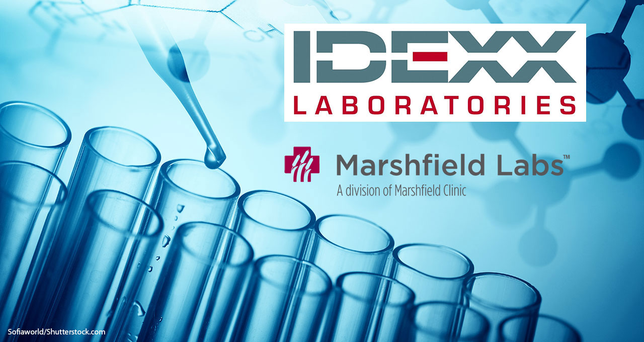 Idexx purchases Marshfield's veterinary lab business
