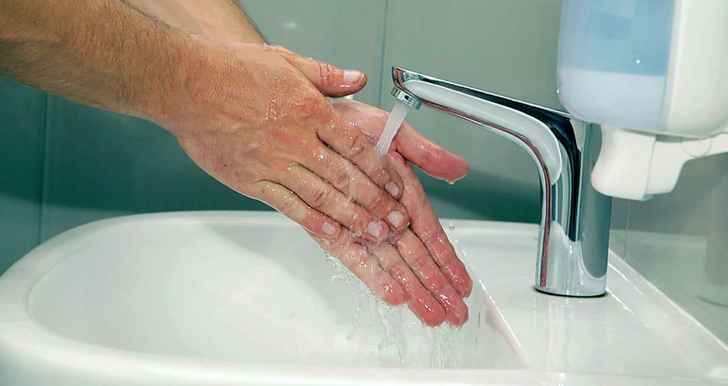 hand washing pathogens