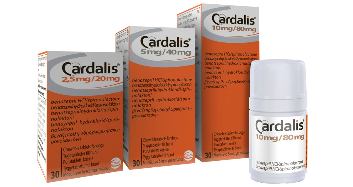 Cardalis heart drug for dogs wins approval