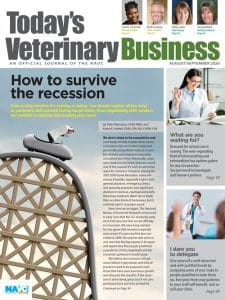 August/September 2020, Today's Veterinary Business