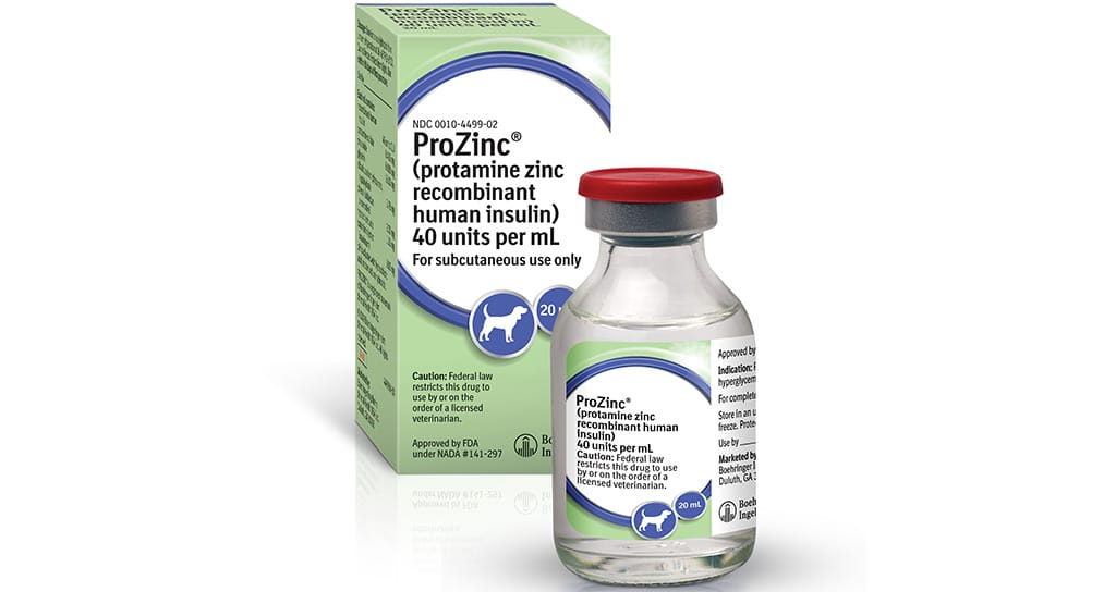 Boehringer introduces once-daily ProZinc for dogs