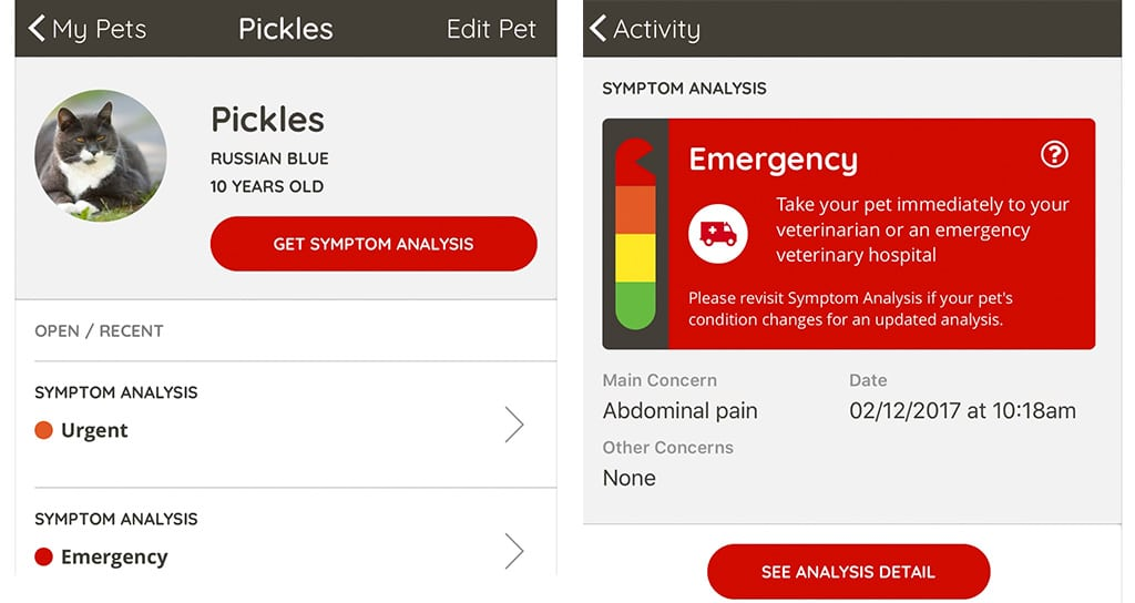 Petriage's Symptom Checker Is Patent-Protected